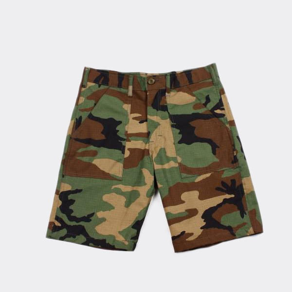 STAN RAY - FATIGUE SHORT WOODLAND CAMO