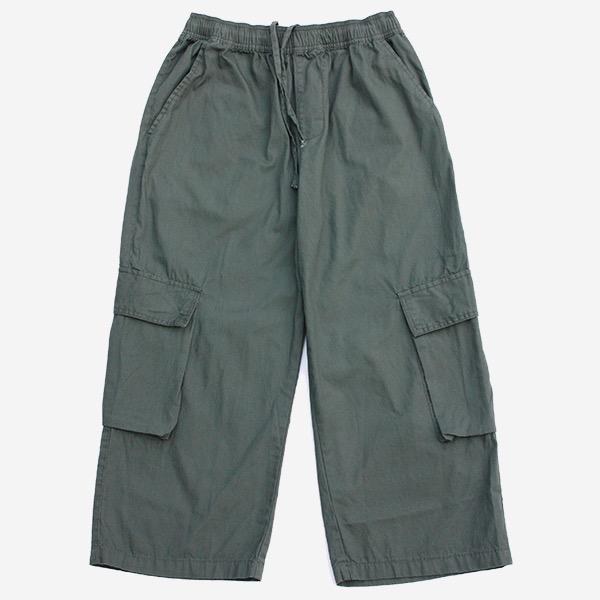 口袋寬鬆九分褲