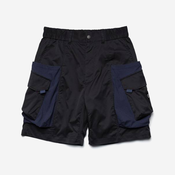 WISDOM - WSDM SPLICING NORAGI SHORT - NAVY