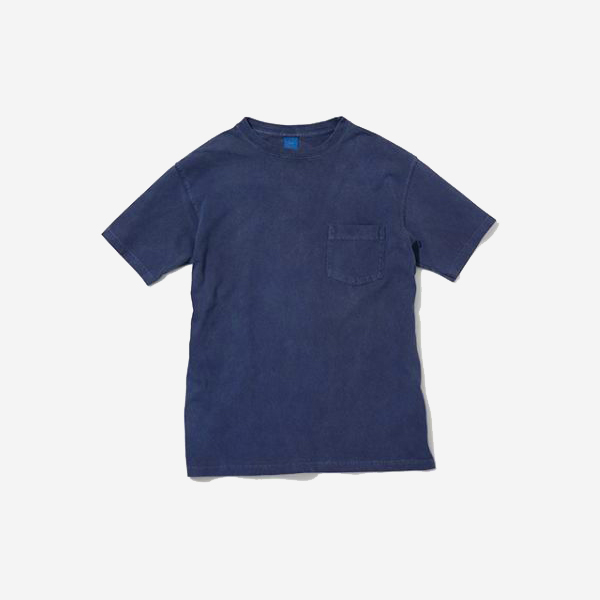 GOOD ON - CREW NECK POCKET T-SHIRT / NAVY
