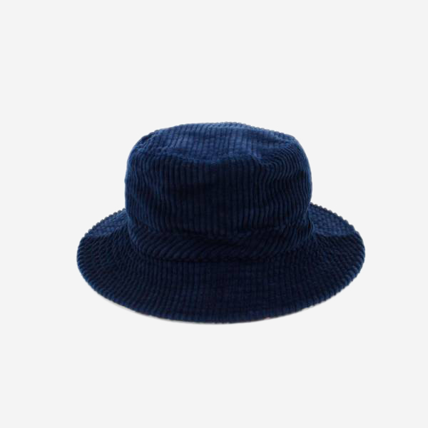 CABLEAMI - CORDUROY REVERSIBLE HAT NAVY