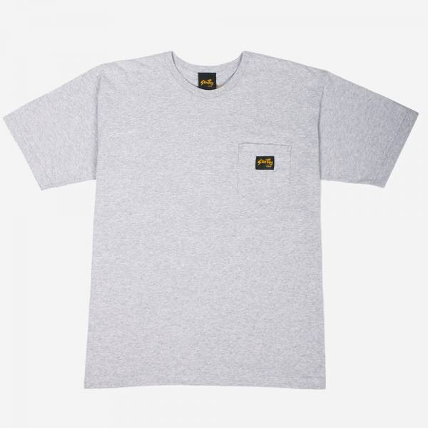 STAN RAY - STAN POCKET TEE GREY