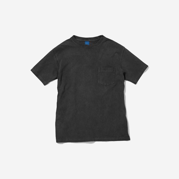 GOOD ON - CREW NECK POCKET T-SHIRT / BLACK