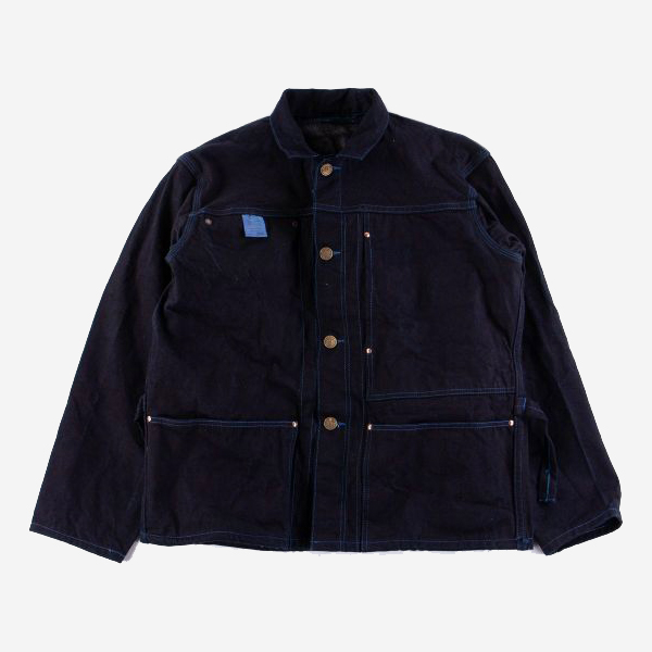 TENDER CO. - TEN YEARS 900 JACKET-WOAD DYED