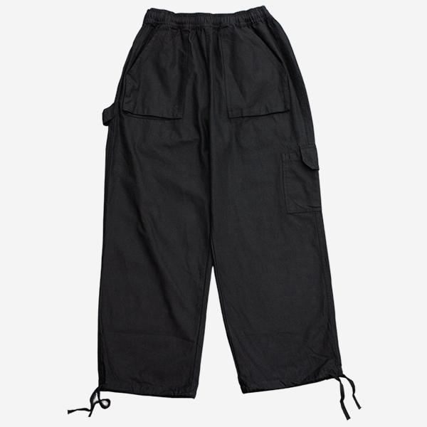 工作口袋軍裝寬褲