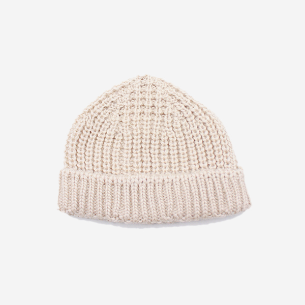 CABLEAMI - WOOL SHORT W / CAP-IVORY