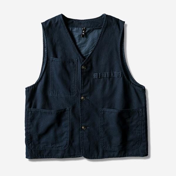 美式復古工裝口袋背心
