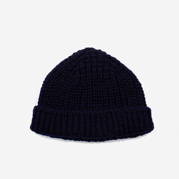 CABLEAMI - WOOL SHORT W / CAP-NAVY