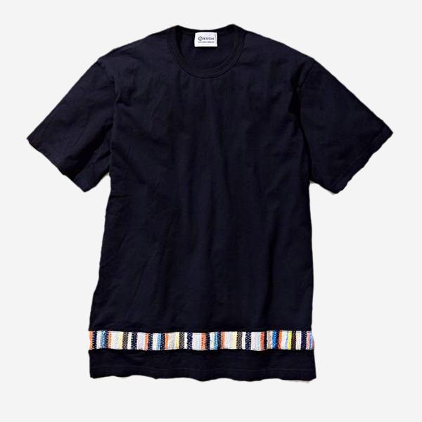 KUON - SAKIORI SWITCHED T-SHIRT BLACK