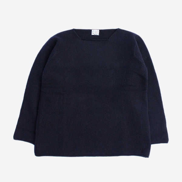 TENDER CO. - OPEN NECK PULLOVER - NAVY