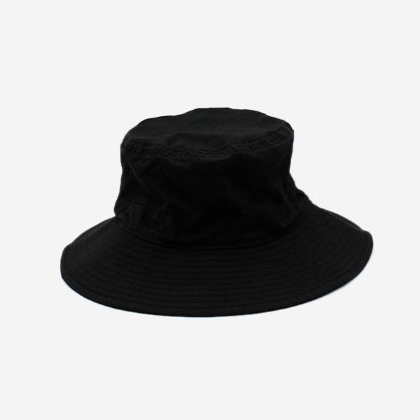 CABLEAMI -  RIP-STOP HAT WITH DRAWCORD - BLACK