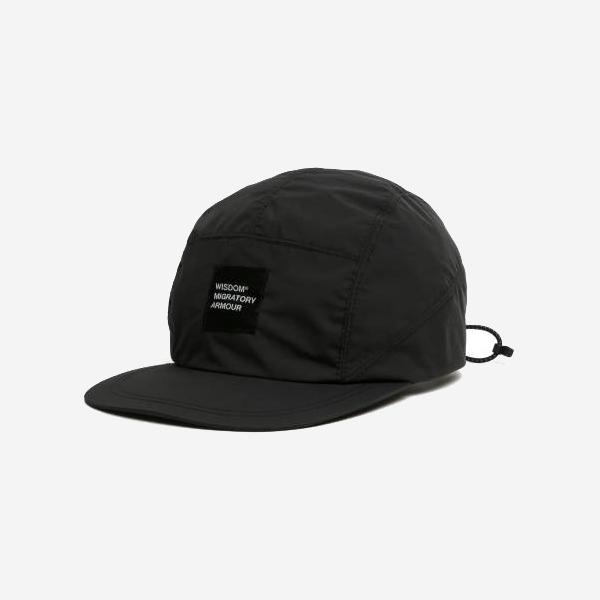 WISDOM - WSDM 5 PANEL CAP - BLACK