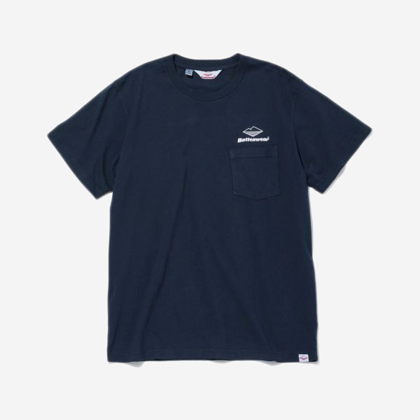 BATTENWEAR - TEAM S/S POCKET TEE-NAVY