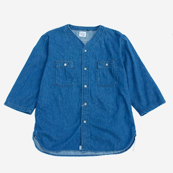 ORSLOW - DENIM BOYSCOUT SHIRTS