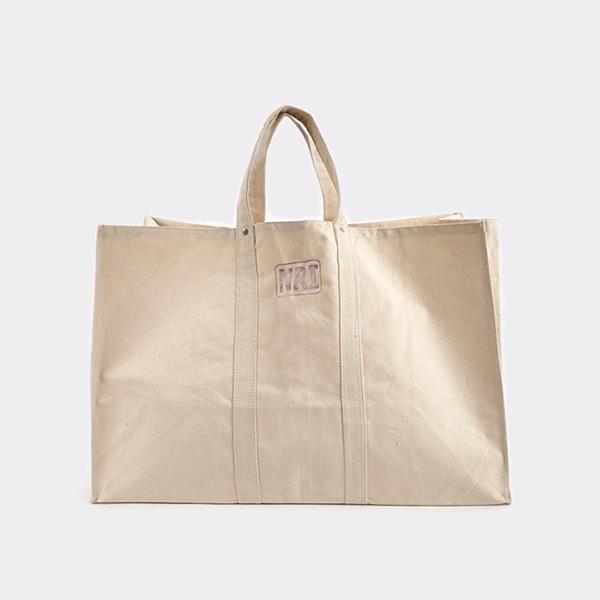 PUEBCO - LABOUR TOTE BAG LARGE OFF WHITE 純棉工業風環保購物袋