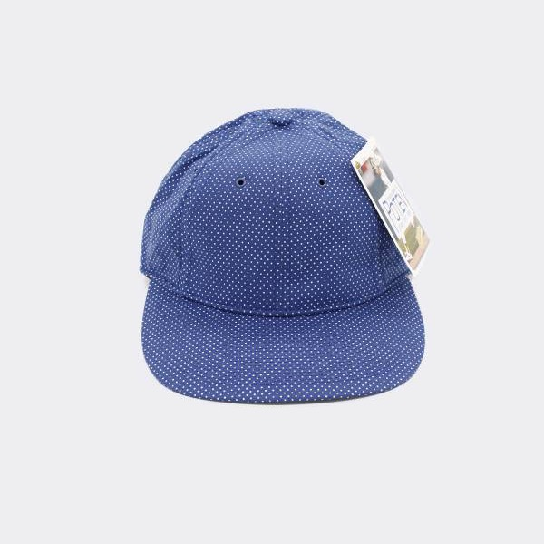 POTEN - POLKA DOT BASEBALL CAP BLUE