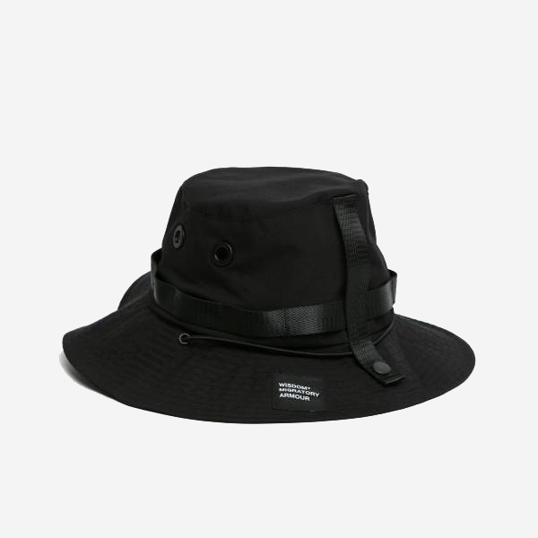 WISDOM - WSDM TACTICAL HAT - BLACK