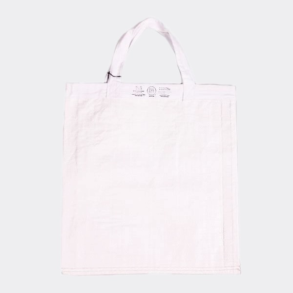 PUEBCO - SHOPPING BAG WHITE 環保購物袋