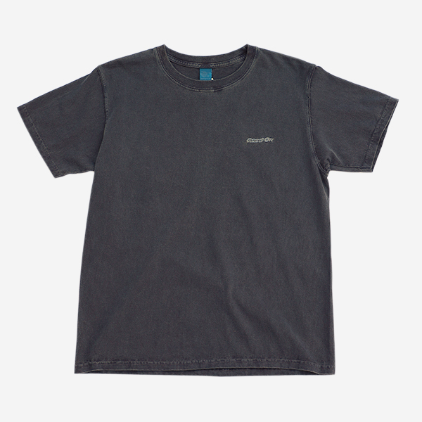 GOOD ON - COLOR DYE WAPPEN SS TEE-BLACK
