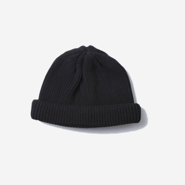 ROTOTO - COTTON ROLL UP BEANIE(4 COLOR)