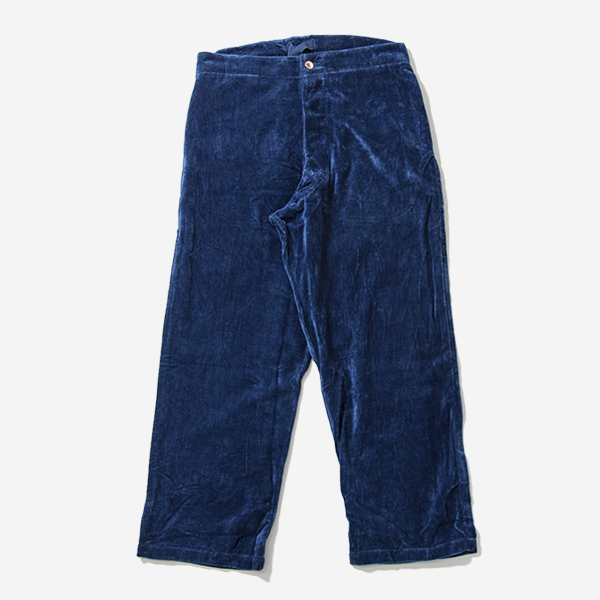 STORY MFG - BRITISH JEANS-NATURAL INDIGO VELVET
