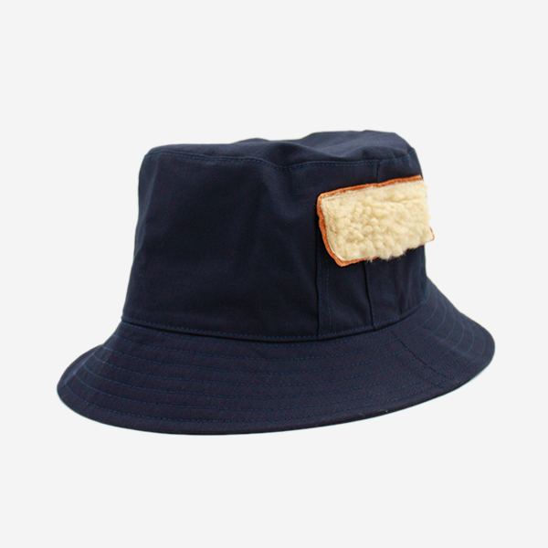 CABLEAMI - RIP-STOP FISHING HAT-NAVY