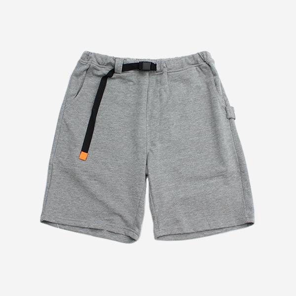 純色針織運動休閒短褲