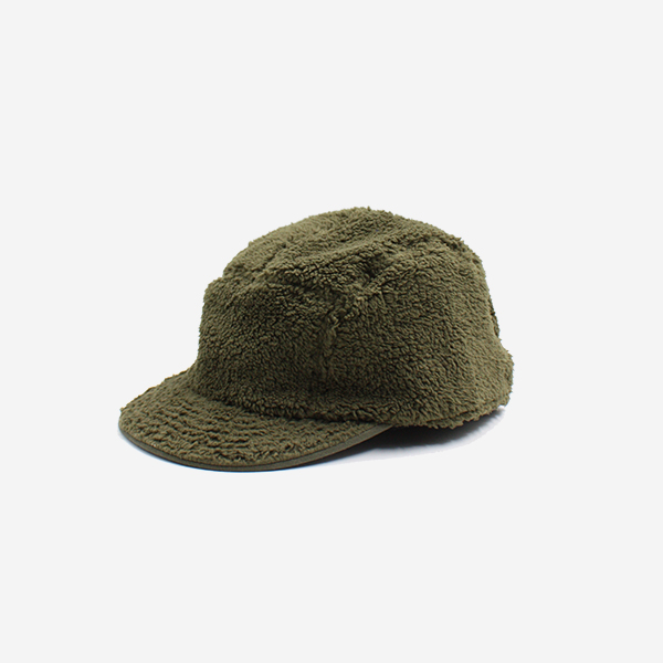CABLEAMI - BOA FLEECE CAP GREEN