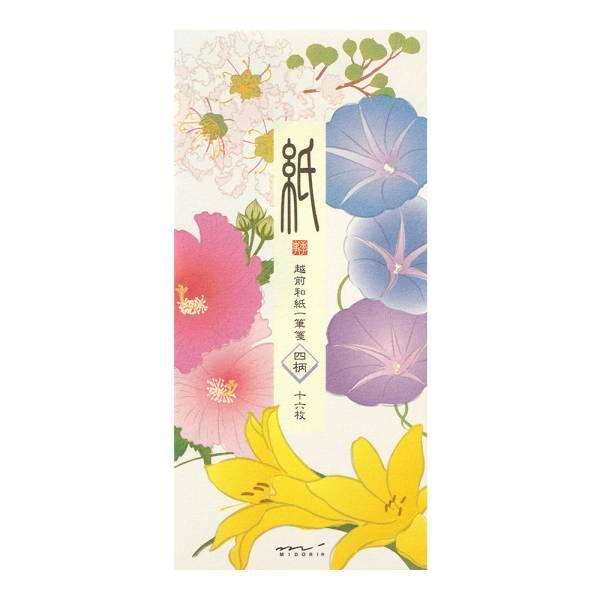 盛夏紙系列-盛夏花卉4款