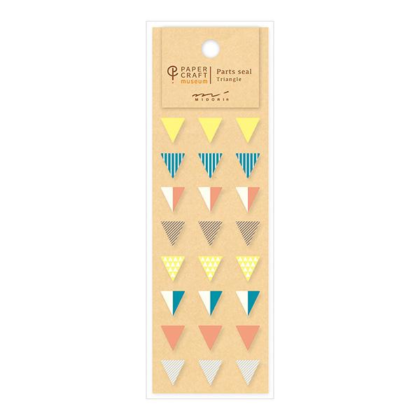 PCM紙藝博物館-配件貼紙-三角形