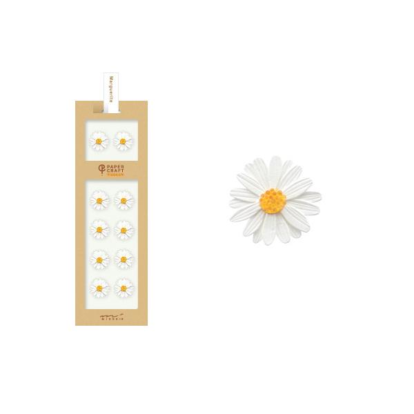 PCM紙藝博物館-造型貼紙-雛菊