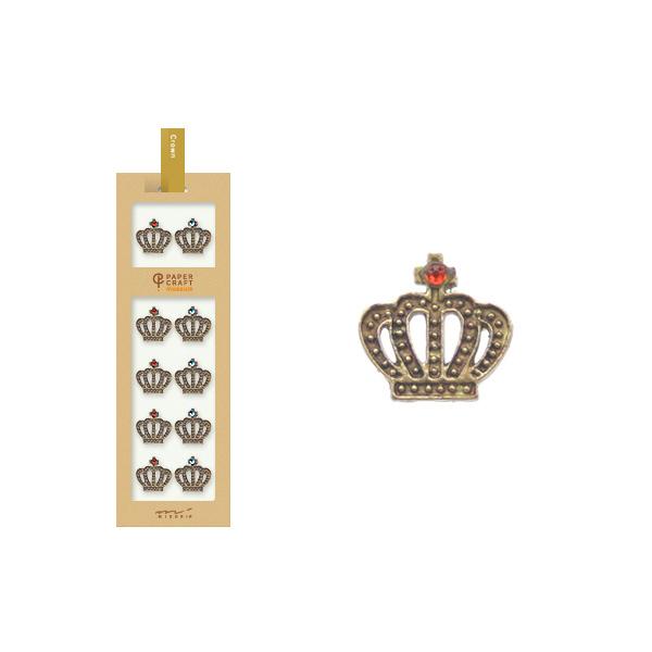 PCM紙藝博物館-造型貼紙-皇冠