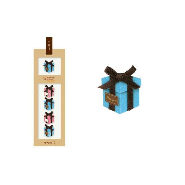 PCM紙藝博物館-造型貼紙-禮物