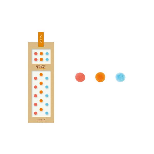 PCM紙藝博物館-造型貼紙-小軟球