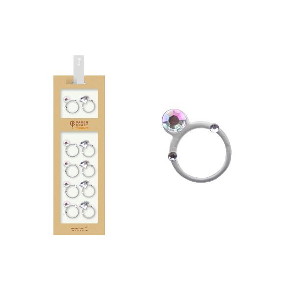 PCM紙藝博物館-造型貼紙-戒指