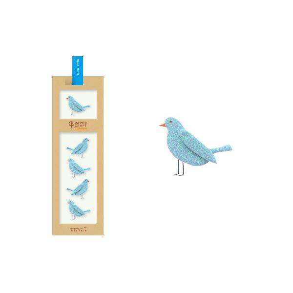 PCM紙藝博物館-造型貼紙-青鳥