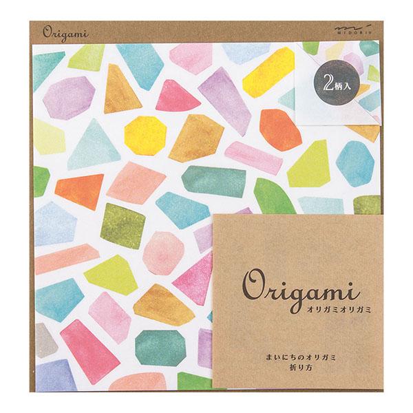 Origami玩色紙 水彩(2016)