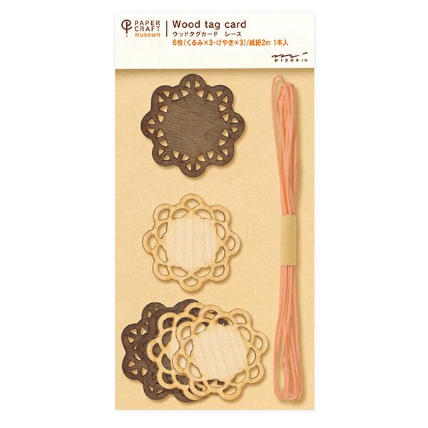 PCM紙藝博物館-木質吊飾-蕾絲