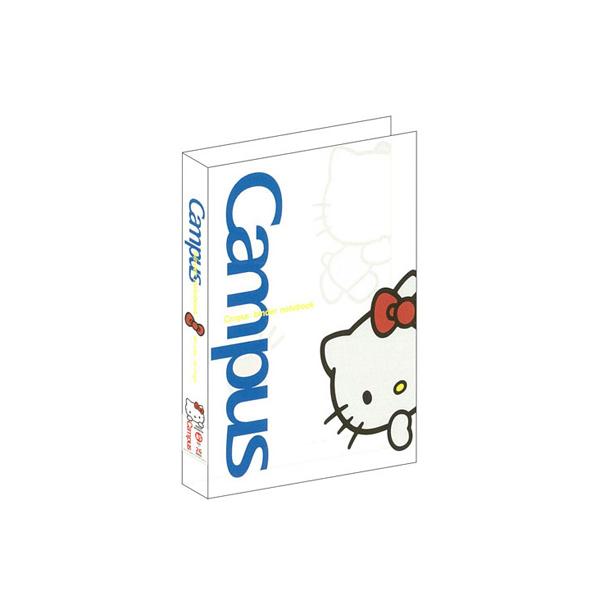 Campus(限)26孔透明活頁夾-凱蒂貓