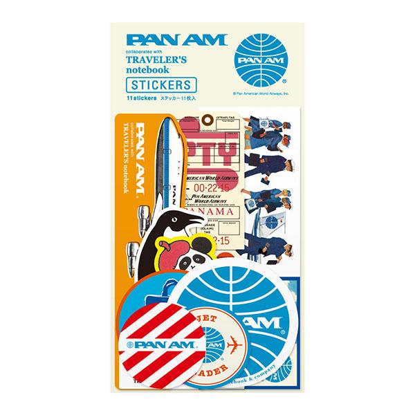 midori PAN AM系列 復古貼紙