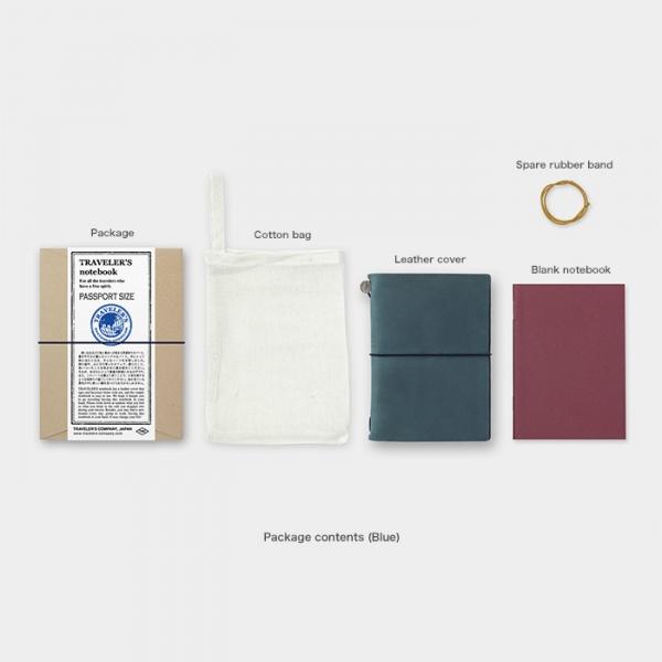 旅人筆記本-經典藍PA