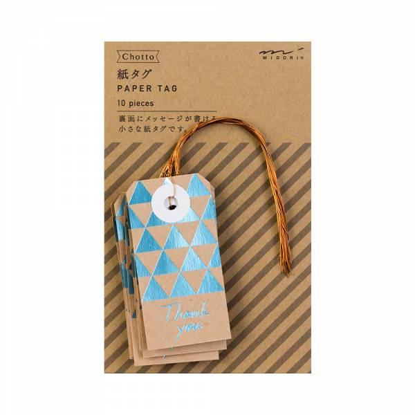 Chotto紙吊牌