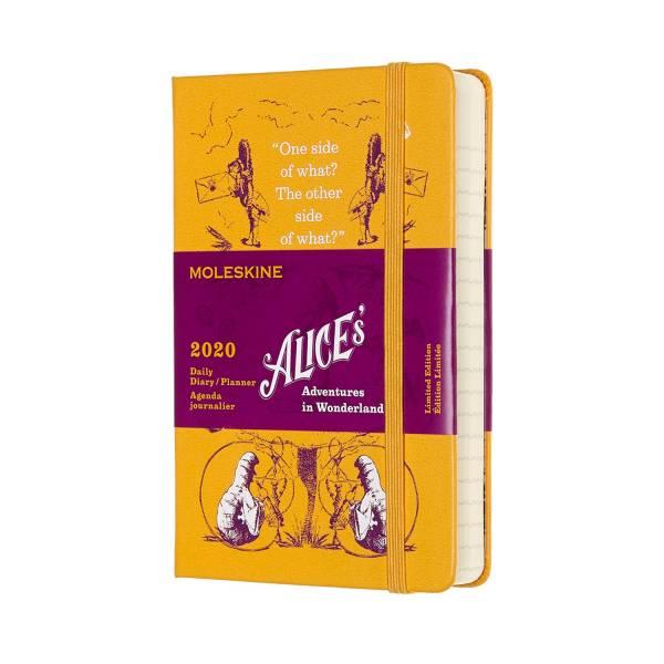 2020年愛麗絲限量日記12M-口袋
