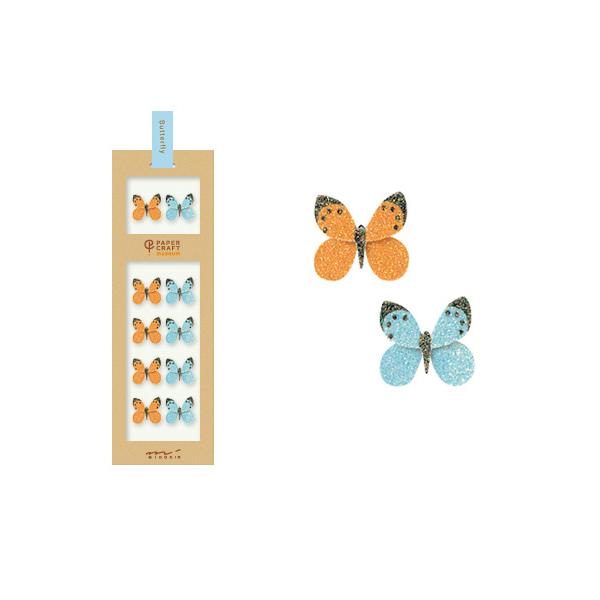 PCM紙藝博物館-造型貼紙-蝴蝶