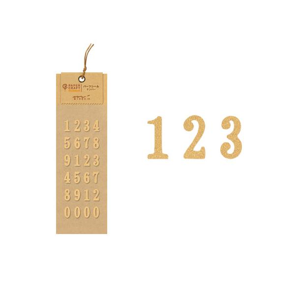 PCM紙藝博物館-配件貼-數字