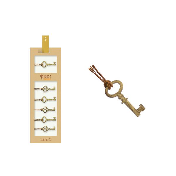 PCM紙藝博物館-造型貼紙-鑰匙