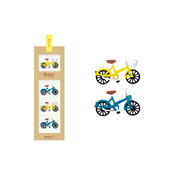 PCM紙藝博物館-造型貼紙-腳踏車A