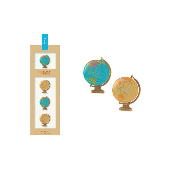 PCM紙藝博物館-造型貼紙-地球儀