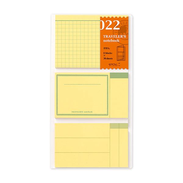 midori TN筆記本 022補充包 便條貼