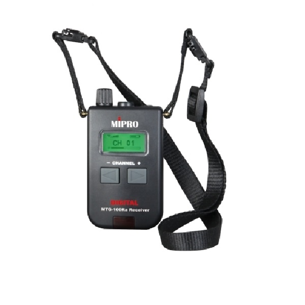 MIPRO 米波羅 AA電池數位式無線導覽接收機  MTG-100Ra 刷卡分6期0利率,MIPRO,米波羅,電池,數位,無線,導覽,接收機,MTG100Ra
